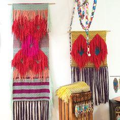 meghanshimek's photo on Instagram // danielle marie andress weaving