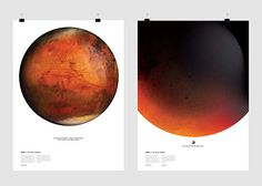 Mars - i love this. Looks like it may be a Litho.