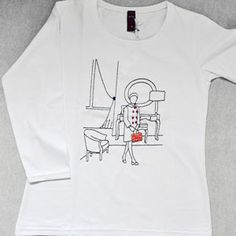 T-Shirt 3/4 Donna Waiting by Tuo tua