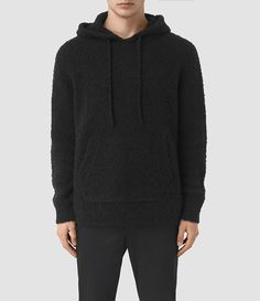 AllSaints New Arrivals: Hinami Knitted Hoody