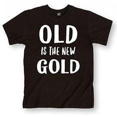 Old is the New Gold-ADULT SHORT SLEEVE TEE - Brought to you by Avarsha.com