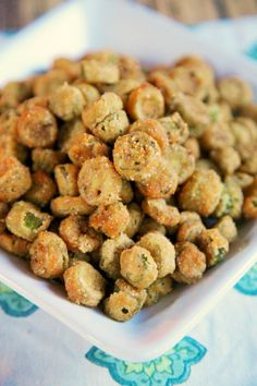2-Ingredient Fried Okra | Plain Chicken  (uses self-rising cornbread mix in a pouch)