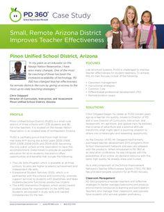 Small, Remote Arizona District Improves Teacher Effectiveness