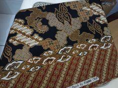 Batik with goldies 2.5m printed