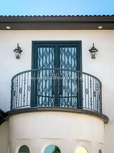 Did you know we provide a variety of wrought iron door styles that are the epitome of elegance and charm? 💡 About this design: Custom Iron Door ☎️️ 877-205-9418 🌐 www.iwantthatdoor.com