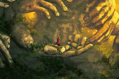Awesome Wallpapers - wallhaven.cc Fantasy Male, High Quality Wallpapers, Digital Art, Statue, Drawings, Awesome, Illustration, Artwork, Flowers