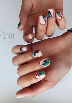 nail art designs classy / nail art designs + nail art designs for spring + nail art designs easy + nail art designs summer + nail art designs for winter + nail art designs classy + nail art designs with glitter + nail art designs with rhinestones Classy Nail Art, Classy Nail Designs, Short Nail Designs, Nail Art Designs, Minimalist Nails, Hair And Nails, My Nails, Short Nails Art, Manicure E Pedicure