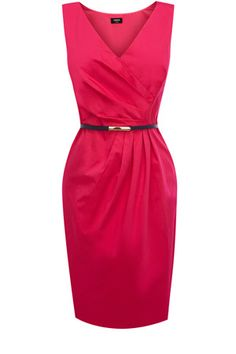 OASIS pink Hannah tailored shift