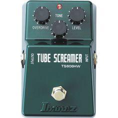 Ibanez TS-808 Tube Screamer Hand Wired