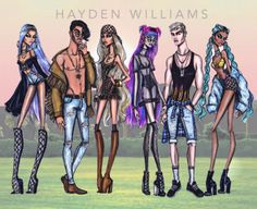 Coachella Vibes collection by Hayden Williams