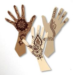 INCLUDES LESSON PLAN!!! Temporary henna tattoos or Mehndi has been a part of celebrations in India for centuries. Learn about this decorative body art and create your own design.