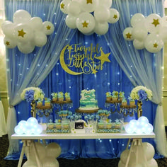 Baby Shower setup for a beautiful Mom-To-Be. Thank you so much Оксана Та… Baby Shower setup for a beautiful Mom-To-Be. Thank you so much Оксана Тарасюк. It was an absolute pleasure meeting you and your family. Deco Baby Shower, Shower Party, Baby Shower Parties, Shower Games, Space Baby Shower, Shower Set, Baby Shower Decorations For Boys, Boy Baby Shower Themes, Babyshower Themes For Boys
