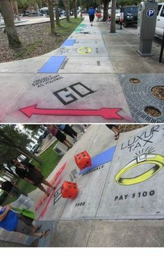 monopoly on the streets