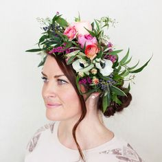 How to make a stunning flower crown