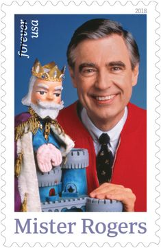 PITTSBURGH Its A Beautiful Day To Honor Mister Rogers With Postage Stamp Postal Service Is Releasing Featuring Fred The Gentle TV Host