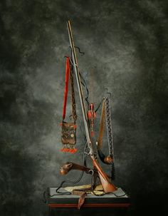 Native American Warrior, Native American Art, Shooting Bags, Flintlock Rifle, Woodland Indians, Black Powder Guns, Longhunter, Powder Horn, Long Rifle