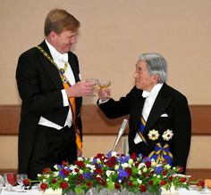 Banquet for King and Queen of the Netherlands....10-29-2014