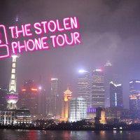 Time Out Shangai faz ação de mobile diferenciada para divulgar e reforçar os valores da marca. #branding #timeout #promoção #thestolenphonetour @Brainstorm9
