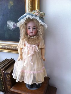RARE Adorable German J D Kestner 18 inches The Original 171 Daisy Antique Doll | eBay
