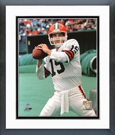 Bernie Kosar Cleveland Browns | Cleveland Browns Bernie Kosar Action Framed Photo