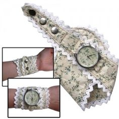 Vintage Pattern Watch Fabric Watch by ZIZWatches on Etsy, Telling Time, Soft Summer, Modern Outfits, Love Flowers, Sewing Crafts, Bracelet Watch, Watches, Trending Outfits, Unique Jewelry