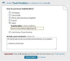 Piilotettu aarre: Mikä sähköpostiosoite kannattaa laittaa LinkedIn:iin
