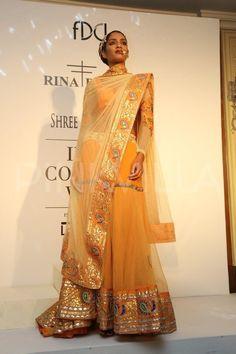 India Couture Week: Malaika Arora Khan, Nimrat Kaur walk for Rina Dhaka | PINKVILLA