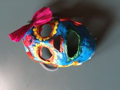 Sugar skull mask for Halloween