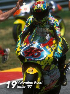Valentino Rossi, win #19, Mugello, Italy, 1997
