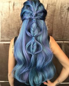 """""Ocean Storm"" To all my HairBesties in the land! I can't wait to meet you overseas 2016! Which country should I visit? Use @olaplex with fashion colors to…"""