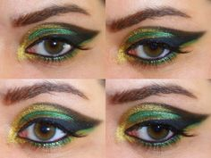 Disney Inspired Makeup • The Avengers: Loki
