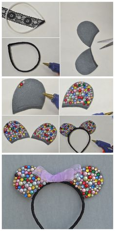 It is important for you to do your research so that you can avoid the traps that await you as a wholesale gold jewelry buyer. Disney Ears Headband, Disney Headbands, Diy Headband, Ear Headbands, Diy Mickey Mouse Ears, Diy Disney Ears, Disney Mickey Ears, Diy Bow, Diy Hair Bows
