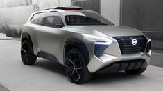ICYMI: Nissan Xmotion SUV concept | Like a Japanese landscape, complete with koi