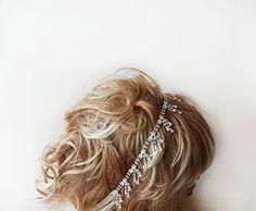 Bridal   headband Rhinestone and Pearl  headband  by ADbrdal, $39.00