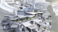 Arbre Blanc: Cutting-edge Tree-like Design Skyscraper in Montpellier