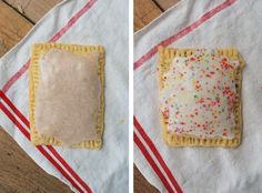 I'm finally posting the recipe for these homemade pop-tarts I teased my Instagram followers with a while back (oh, ya know - 7 months ago! Eeps...sorry to keep you in suspense so long!). I've eaten...