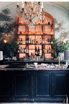 fave bar design for inside Interiors I love: Le Coucou - STACIE . Architecture Restaurant, Restaurant Design, Restaurant Bar, Restaurant Photos, Restaurant Interiors, Hotel Interiors, Commercial Design, Commercial Interiors, Roman And Williams