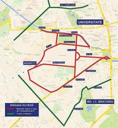 Programul și harta paradei de 1 Decembrie