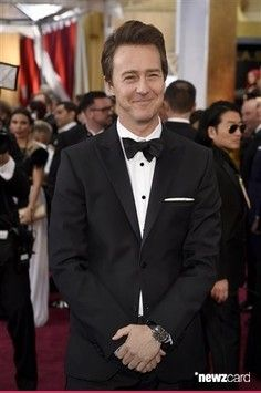 2015 ACADEMY AWARDS ~ Photo: Edward Norton, Oscar nominee for Best Supporting Actor for BIRDMAN.