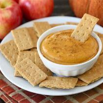 Easy Fall Appetizer Recipes | Snackpicks -Pumpkin Dip