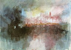The Burning of the Houses of Parliament - William Turner - WikiPaintings.org