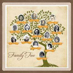 Family History Scrapbooking Sunday: Family Tree