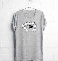Delicious Sheep Funny Black Sweatshirt