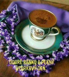 Good Morning, Tea Cups, Tableware, Night, Quotes, Buen Dia, Quotations, Dinnerware, Bonjour