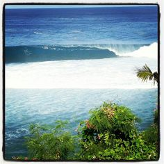 Perfect set on Guam. Marianas Islands
