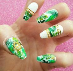 Jungle nails!