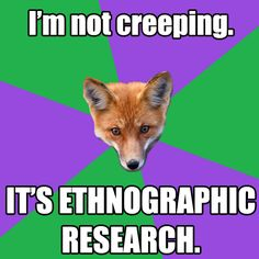 Anthropology Major Fox on Tumblr