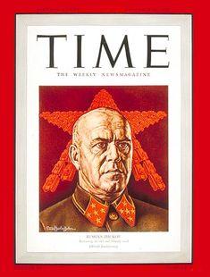 TIME Magazine Cover: General Zhukov - Dec. 14, 1942 - Russia - World War II - Generals