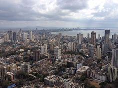 Architecture BRIO - Panorama Skyline of South Mumbai - Queen's Necklace