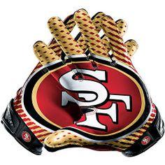 San Francisco 49'er-gloves
